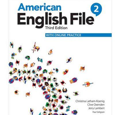کتاب امریکن انگلیش فایل ویرایش سوم American English File 3rd Edition 2
