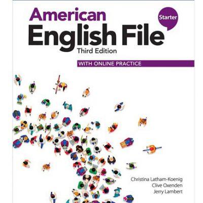 کتاب امریکن انگلیش فایل ویرایش سوم American English File 3rd Edition Starter