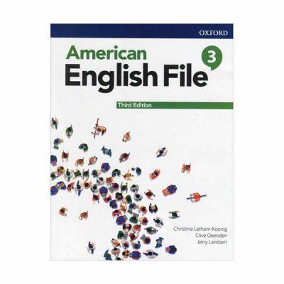 خرید کتاب امریکن انگلیش فایل3 ویرایش سوم American English File 3rd Edition 3