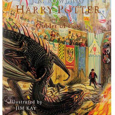 کتابهری پاتر و جام آتش Harry Potter and the Goblet of Fire اثر جیکیرولینگ J. K. Rowling